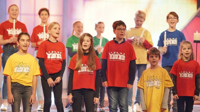 Kinderchor Popchorn (Foto: SWR, Stephan Dinges)