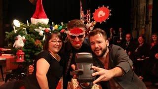 Simey Truong, Hartmut Engler und Sebastian Müller (Foto: SWR, Michelle Habermehl)