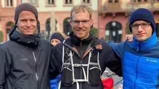 Teilnehmer des Rheinland-Pfalz-Laufs im Ziel  (Foto: SWR, Julius Bauer)