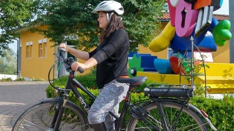 Radfahren als Reha für Galina (Foto: SWR)